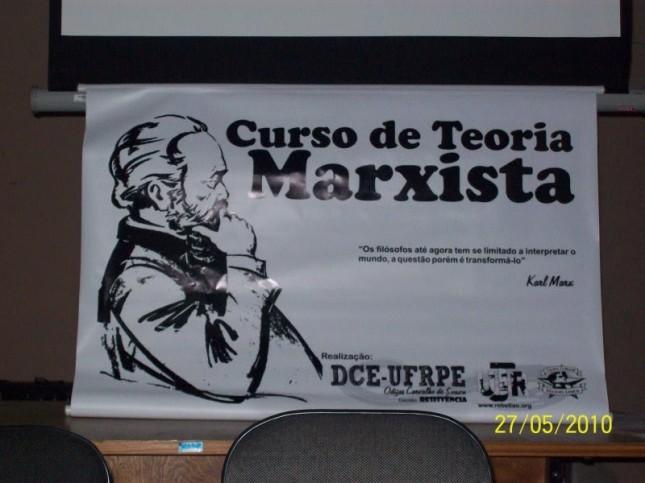 Banner Curso de Teoria Marxista